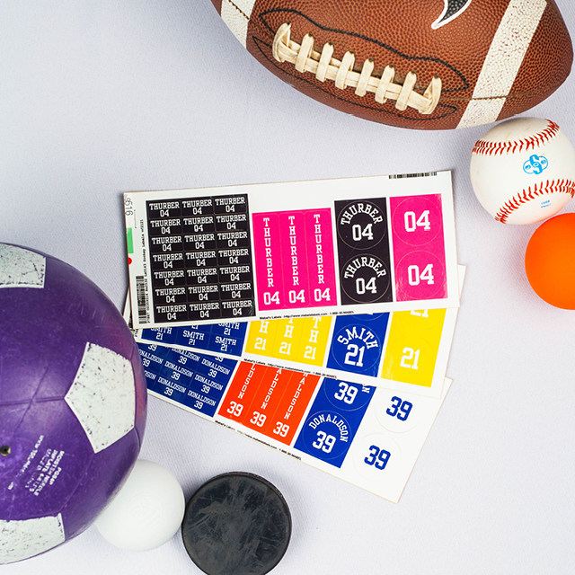 Mabel's Labels, the award-winning market leader of labels for the stuff kids lose(R), announced the expansion of their Sports Label line with the launch of 5 new Sports Label Packs.