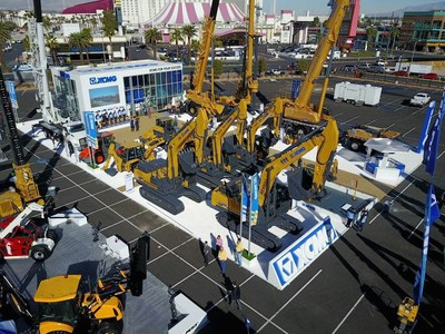 XCMG Unveils North American Product Line at CONEXPO-CON/AGG 2017