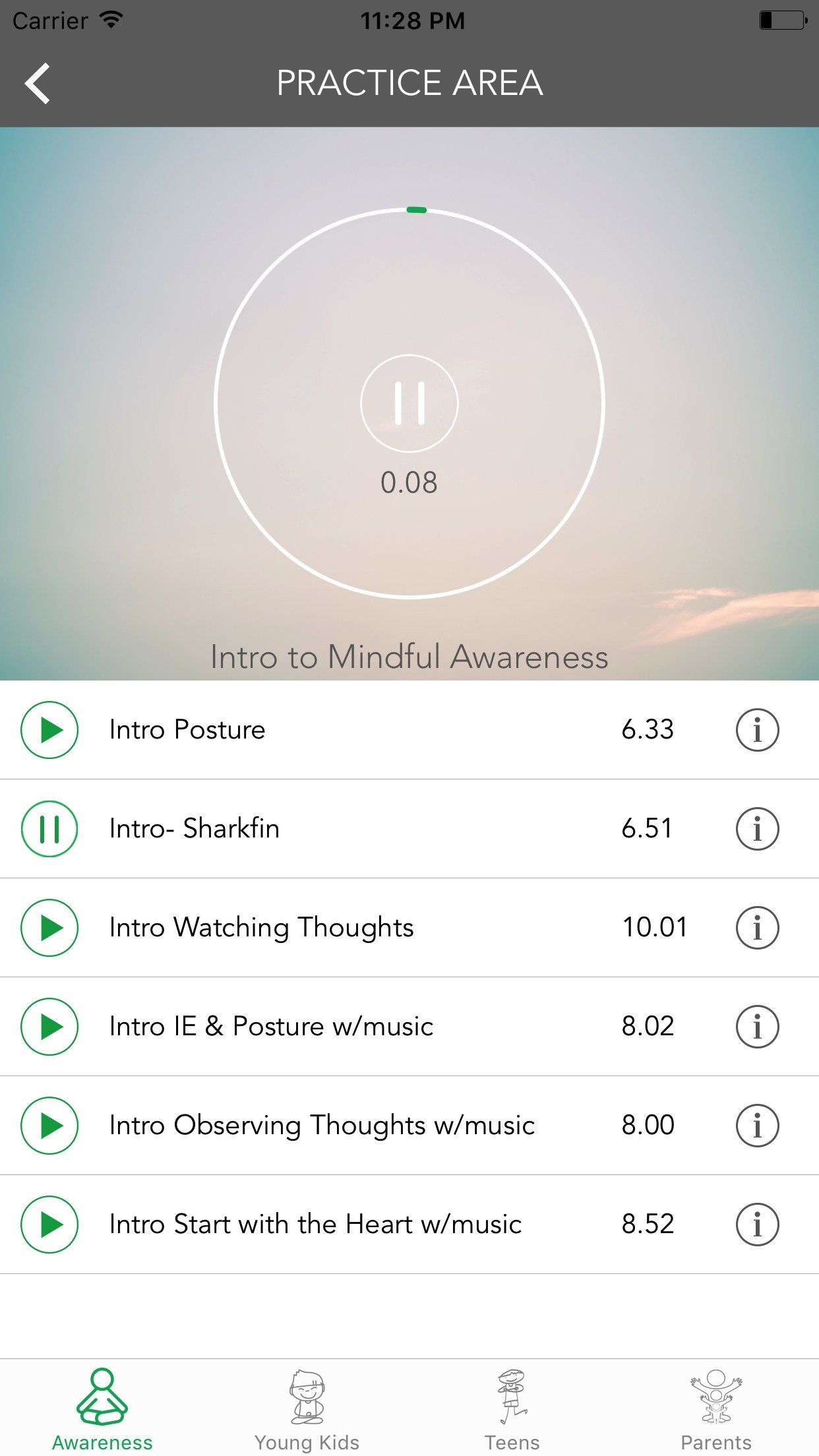 Daily mindfulness practice can help combat stress and increase academic performance