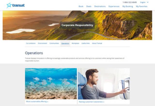 Transat's new CR website_Operations (CNW Group/Transat A.T. Inc.)