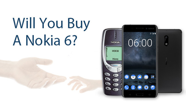 Wondershare asks customers if they will upgrade to Nokia 6
