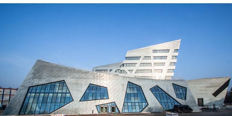 Leuphana University's New Libeskind Building at Luneburg, Germany. (PRNewsFoto/Leuphana University of Luneburg)
