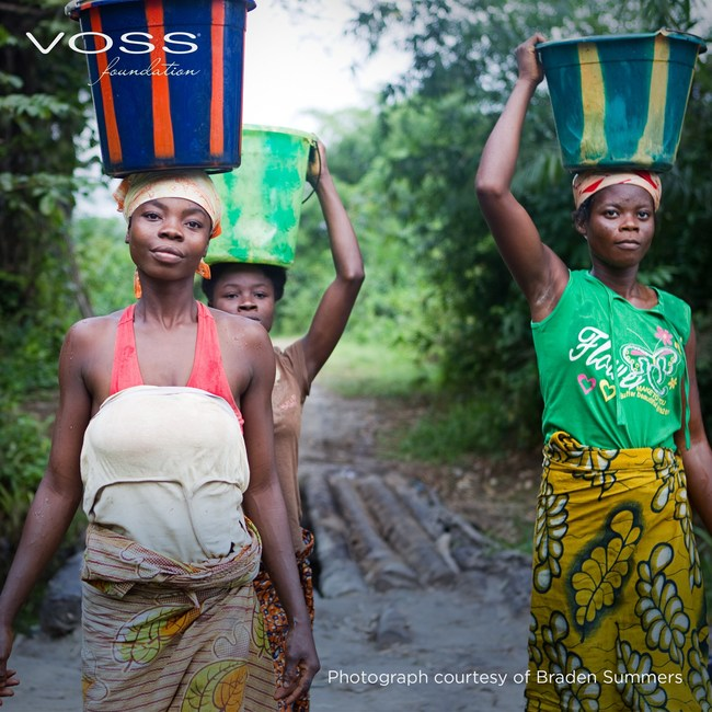 In many places in Sub-Saharan Africa, clean, safe water is a luxury. Women and children must walk many miles and carry heavy containers to bring it back to their communities.