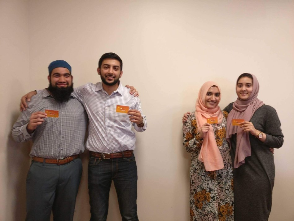 Rutgers Business School students Hasan Usmani, Moneeb Mian, Najeeha Farooqi and alumna Hanaa Lakhani won the Hult Prize Challenge regionals in Boston. The prestigious competition focuses on identifying business ideas that are capable of making an impact on the lives of refugees living in settlements around the world.