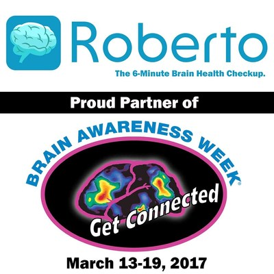 RC21X is providing its new Roberto app as a free download during Brain Awareness Week.
