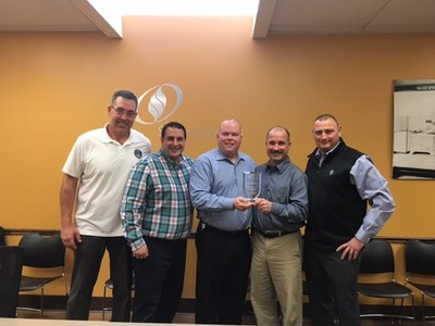 J.F. Kiely Construction Co. Recognized for Outstanding Safety Results by South Jersey Gas Company