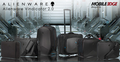 Alienware Carrying Cases and Bags have Arrived! Mobile Edge is proud to introduce a refresh of its Alienware Vindicator family of backpacks, slim cases, briefcases, messenger bag, rolling case and neoprene sleeves. With increased storage space and durable construction, the Alienware 2.0 product line's debut is perfectly timed with the release of Alienware's bestselling Gen-2 gaming laptops. Now Bring It On!