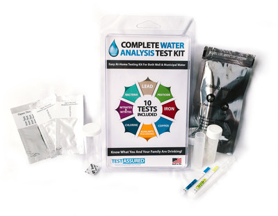 Our at home testing kit gives you quick results for lead, pesticide and more.
