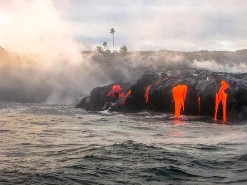 Kilauea Volcano on Hawai'i Island