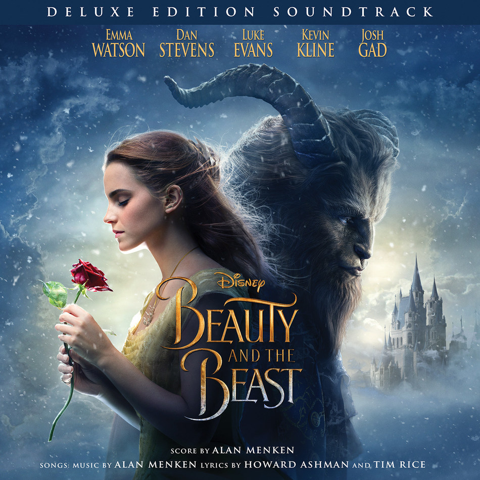 Beauty and The Beast Deluxe Edition Soundtrack cover art.