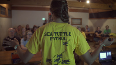 Honda's short film documents Edisto Beach State Park's mission to save threatened loggerhead sea turtles.