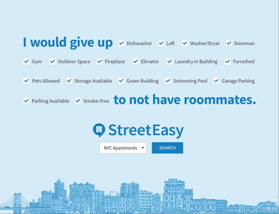 StreetEasy's 2017 ad campaign, Find Your Place.