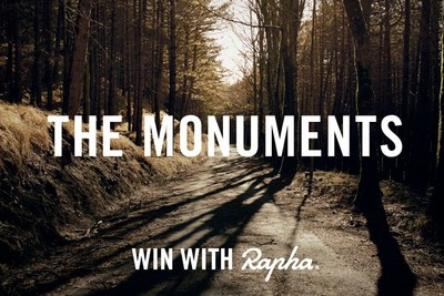Cycling lifestyle brand Rapha's Monuments competition begins on March 14th - guess the winning times in the most famous one-day bike races to win luxury cycling travel, a free bike and more. (PRNewsFoto/Rapha Racing)