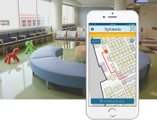 Easily navigate the Oishei Children's Outpatient Center with wayfinding powered by Jibestream's mapping engine- available via the MyKaleida app