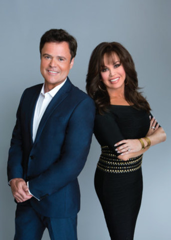 Donny & Marie, Saturday, August 19 & Sunday, August 20, Casino Rama Resort, Tickets start at $70.80 (CNW Group/Casino Rama Resort)