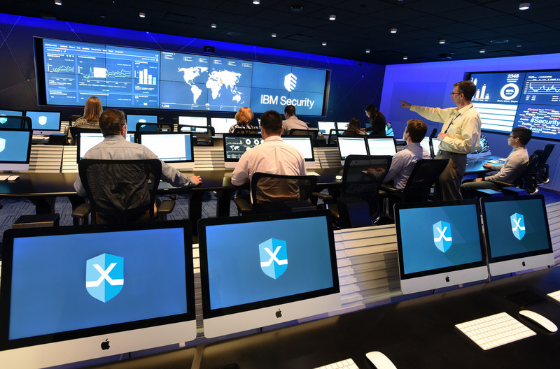 More than 600 Visitors Across a Dozen Industries Have Trained for Cyber Attacks at IBM Security's X-Force Command Cyber Range (John Mottern/Feature Photo Service for IBM)