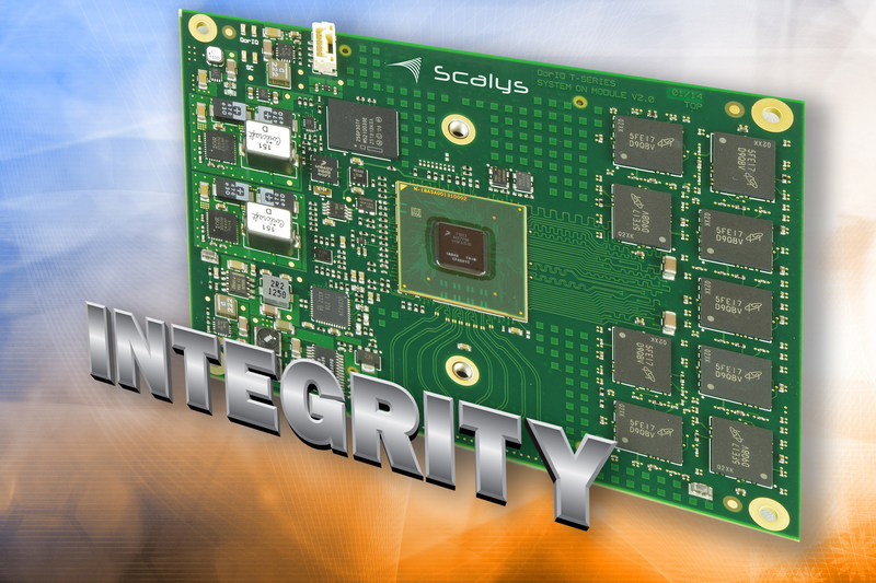 Green Hills Software's secure INTEGRITY RTOS supports Scalys' family of NXP-based System-on-Modules
