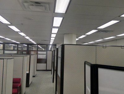 ADI Energy has completed construction on a massive LED lighting infrastructure upgrade at the US Department of Energy Washington DC Headquarters, James Forrestal Building under an energy savings performance contract.