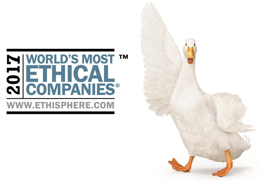 Aflac has been selected by the Ethisphere Institute as a World's Most Ethical Company for the 11th consecutive year. Aflac is the only insurance company in the world to gain this designation every year since its inception in 2007.