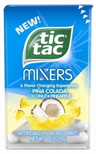 Tic Tac Mixers Pina Colada