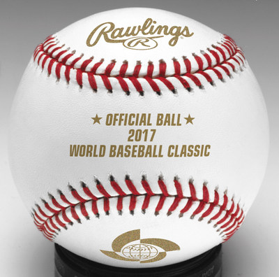 Rawlings named as the Official Baseball of the 2017 World Baseball Classic