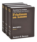 Friedman on Leases, Sixth Edition