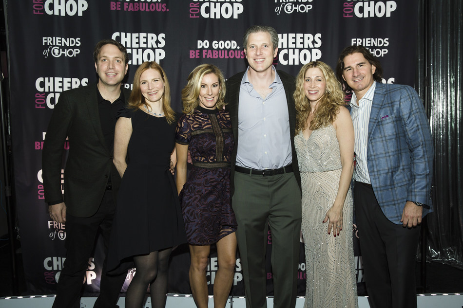 Members of Friends of CHOP attend Cheers for CHOP