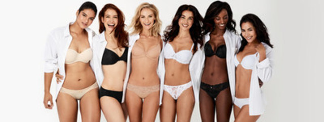 La Vie en Rose invite les femmes à être confiantes et être elles-mêmes avec sa nouvelle campagne de soutiens-gorge. (Groupe CNW/Boutique La Vie en Rose Inc.)