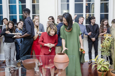 SCAD president and founder Paula Wallace conceived and endowed the Alumni Atelier program, which seeks to enrich the creative and professional endeavors of distinguished SCAD graduates.