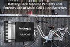 Intersil Unveils Highly Integrated Multi-Cell Battery Pack Monitor