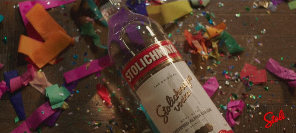 "Stoli(R) Brand Returns to Television with New ""THE Vodka"" Commercial"
