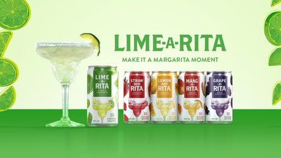 Lime-A-Rita introduces Make it A Margarita Moment campaign featuring new pop-art inspired packaging design and on-trend flavors to deliver more margarita moments to female drinkers.