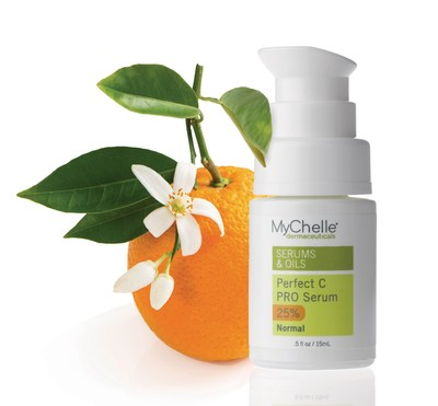 Perfect C(TM) PRO Serum ($52.00 / 0.5 fl. oz.) is a professional-level Vitamin C formula that effectively brightens the complexion and provides powerful antioxidant/anti-pollution/anti-aging benefits. Formulated with 25% L-Ascorbic Acid plus Plant C-Stem(TM) to restore skin texture and reduce the visible signs of aging.