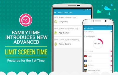 FamilyTime Beats the Competition - Introduces Most Powerful Screen Time Controls on Android