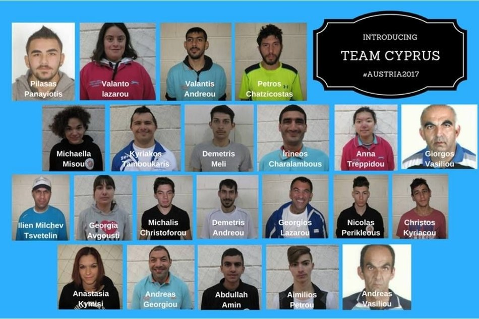 Special Olympics Team Cyprus to the 2017 World Winter Games (PRNewsFoto/Alvexo)