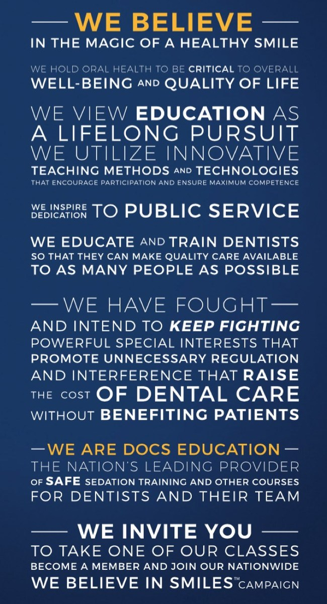 DOCS Education's Corporate Proclamation