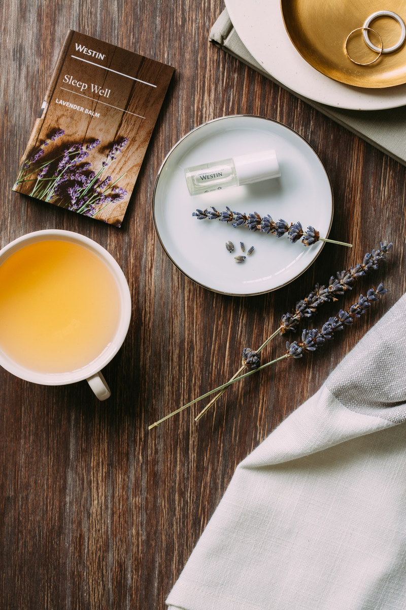 Westin Hotels & Resorts recently introduced a complimentary Sleep Well Lavender Balm bedside amenity, infused with the calming essential oils of lavender and chamomile.  This is the latest in a series of sleep offerings that promise a better slumber for travelers, including the iconic Westin Heavenly(R) Bed.