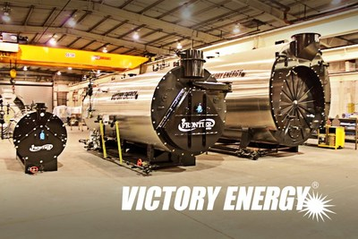 Victory Energy Firetubes, sized to fit your steam demands