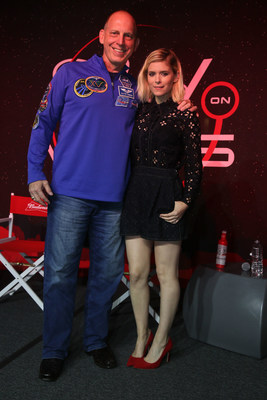 Actress Kate Mara and retired Astronaut Clay Anderson joined Budweiser at the SXSW Interactive Festival on Saturday March 11 to unveil the brand's long-term commitment to be the first beer on Mars