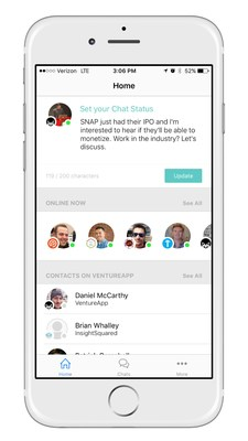 VentureApp: Professional Chat Platform for the Innovation Economy