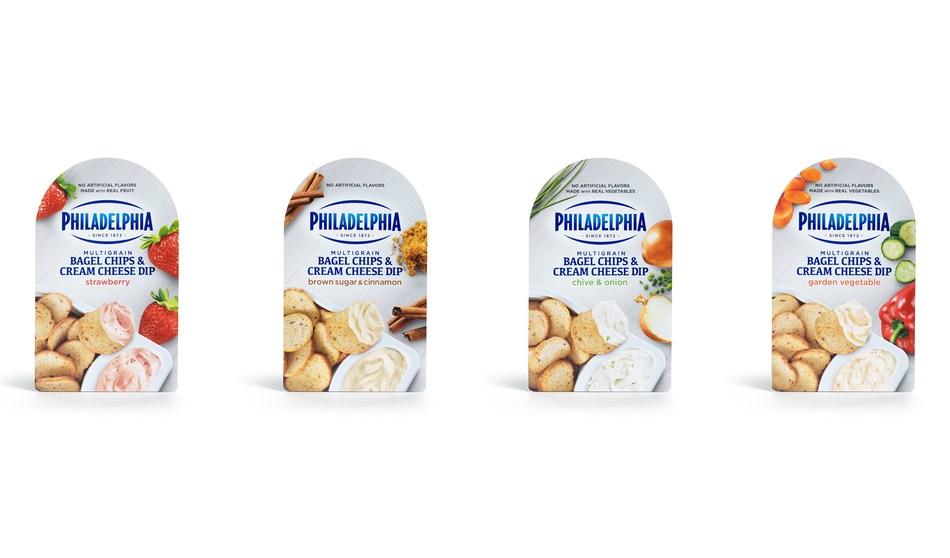Philadelphia Bagel Chips & Cream Cheese Dips