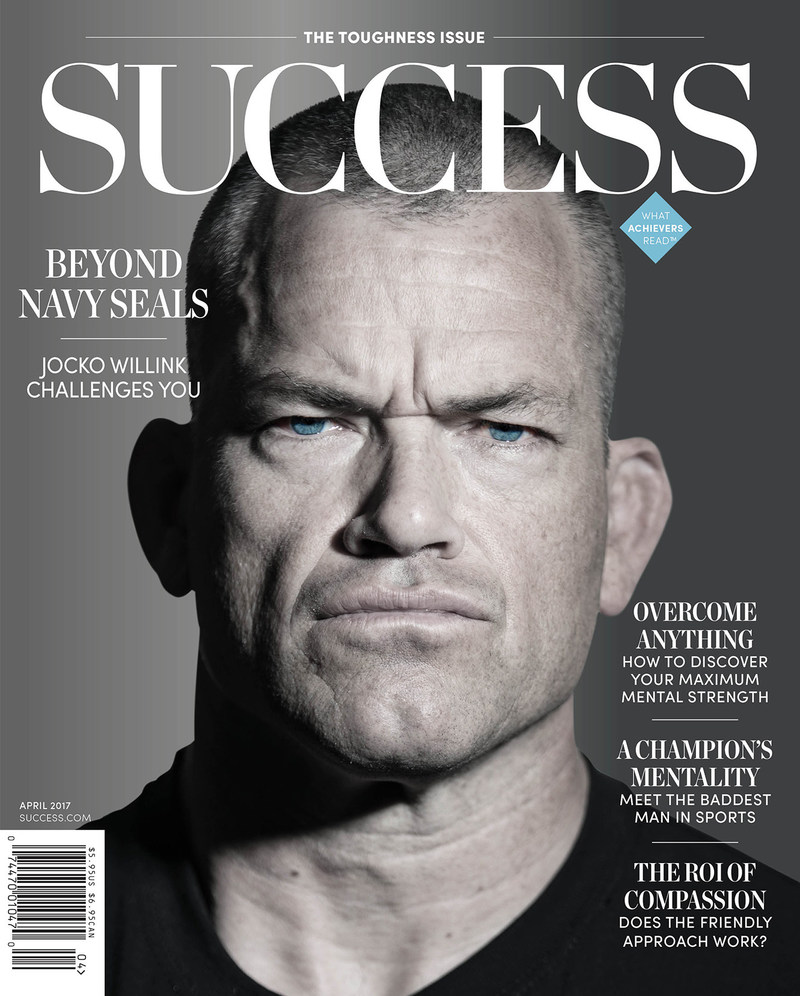 Get a glimpse inside the life of former navy SEAL and popular podcast host Jocko Willink in the April Issue of SUCCESS.