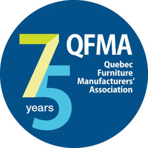 Logo: Quebec Furniture Manufacturers' Association (CNW Group/Association des fabricants de meubles du Québec)