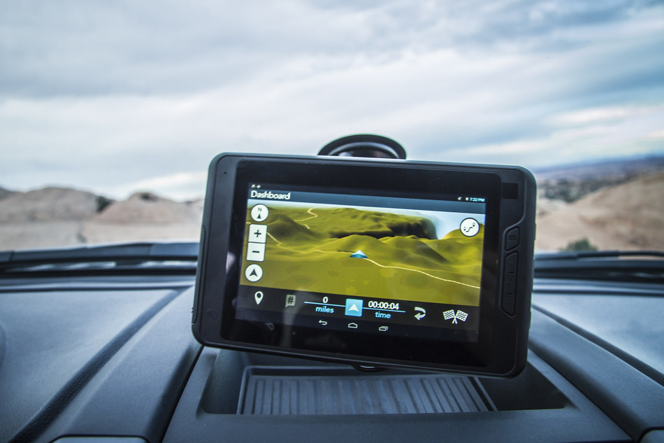 Magellan's TRX7 is the ultimate off-road navigator. Its crowd-sourced tracks provide a constantly updated library, allowing users to plan adventures, add pictures and comments to trails, and easily share their experiences with other off-roaders.