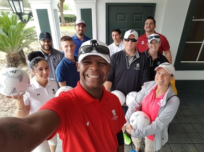 Wounded Warrior Project(R) (WWP) recently introduced veterans and their family members to footgolf. As they challenged themselves with a new physical activity, participants connected with fellow service members and experienced the benefits of interacting with their community.
