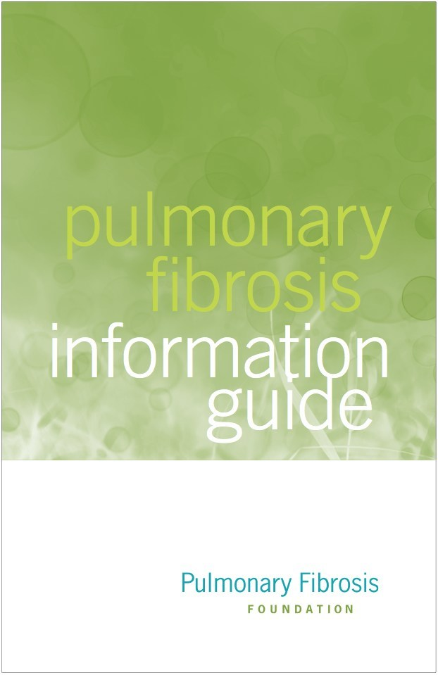 The PFF's newly updated Pulmonary Fibrosis Information Guide