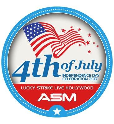 ASM 4th of July Independence Day Celebration 2017 at Lucky Strike Live in Hollywood