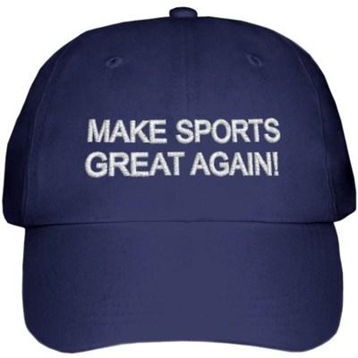 Make Sports Great Again! (AllSportsMarket/The New Sports Economy Institute/The Sports Vote)