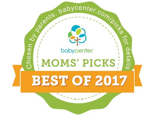 BabyCenter 2017 Moms' Picks Winners' Seal