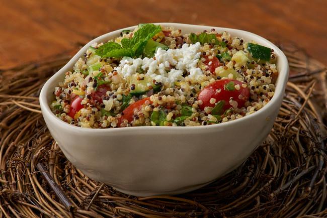 Quinoa Tabouli featuring the all new Success Tri-Colored 100% Quinoa. www.successquinoa.com